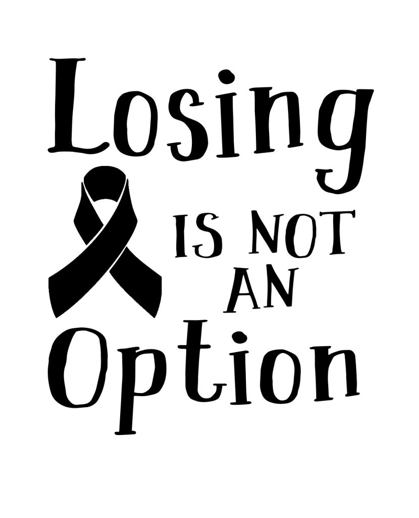 Free Losing is not an option SVG File