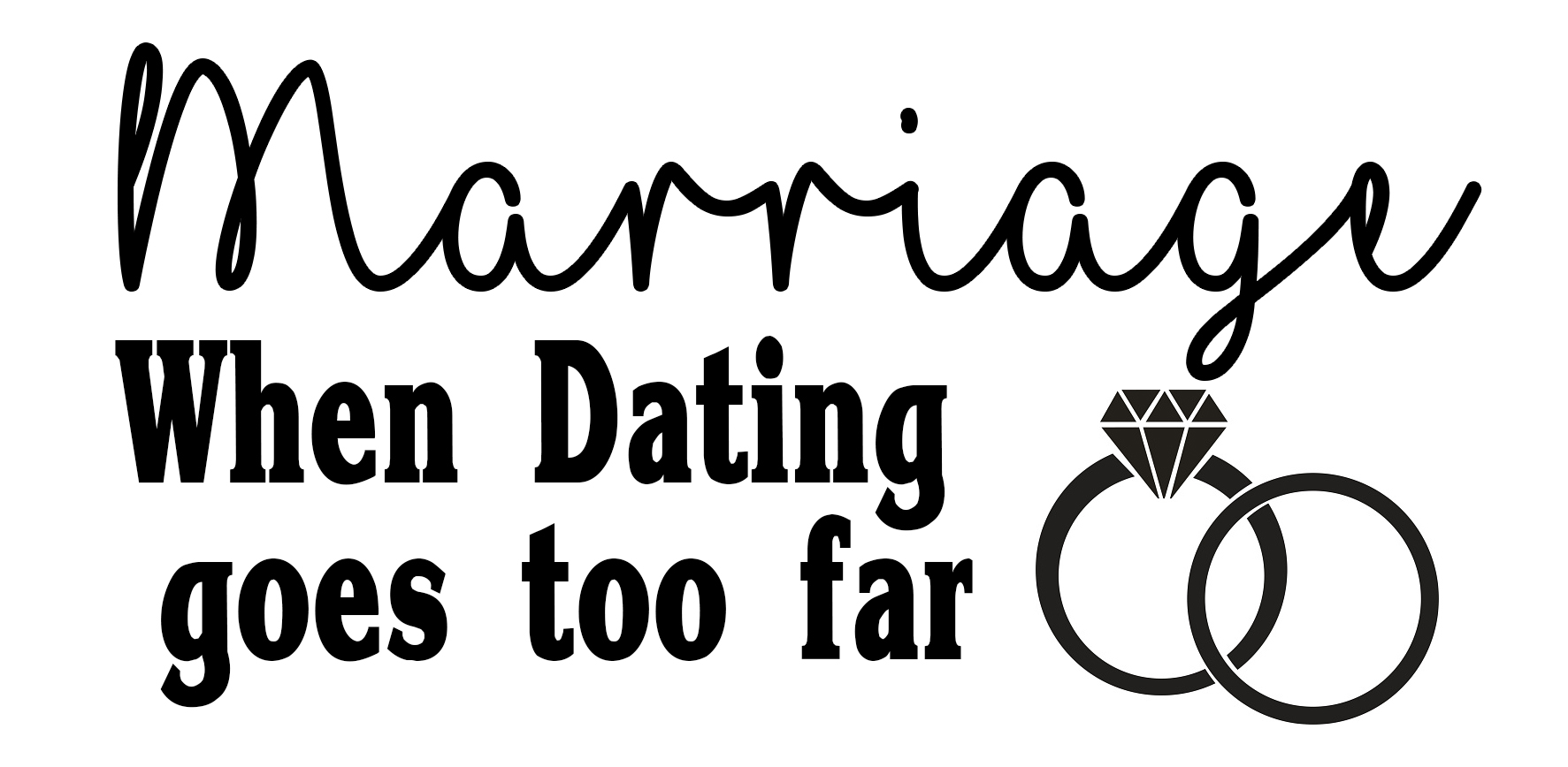 Free Marriage SVG File