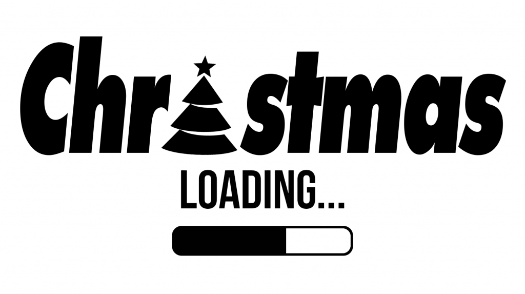Free Christmas is loading SVG File Download