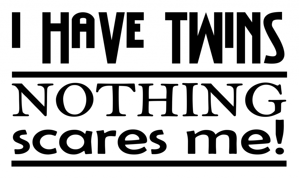Free I have twins SVG File Download