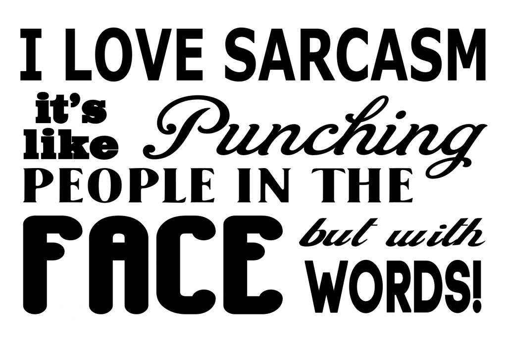 Free Sarcasm SVG File