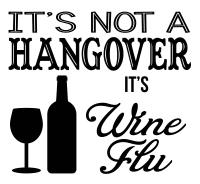 Free Wine Flu SVG File