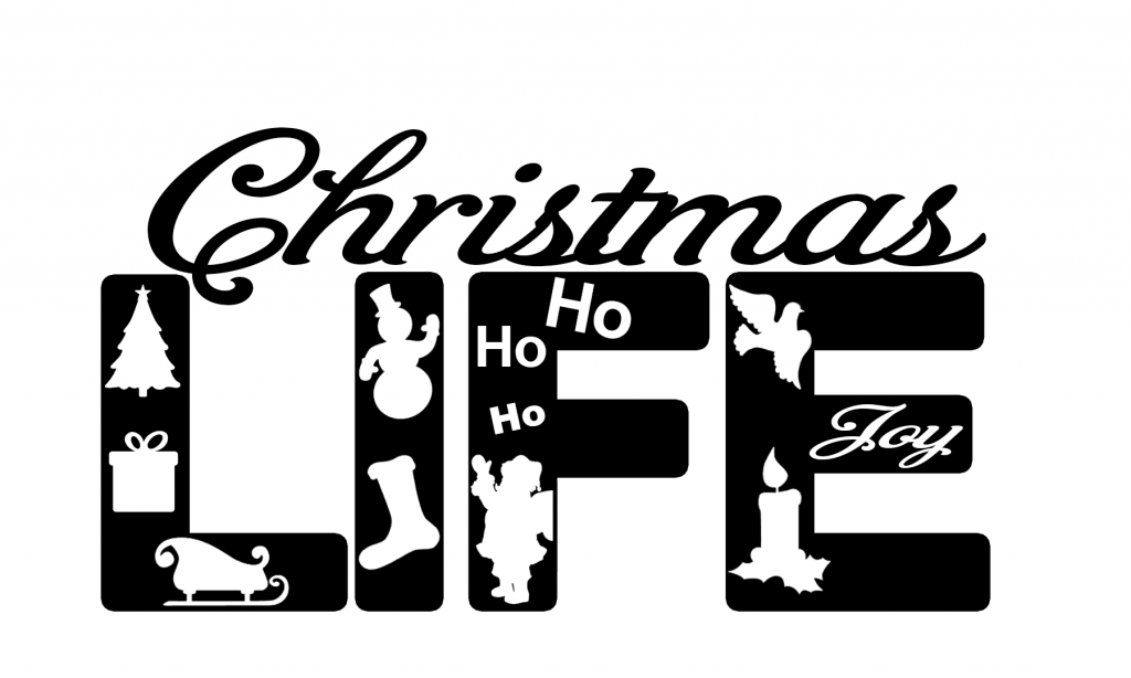 Free Christmas Life SVG File