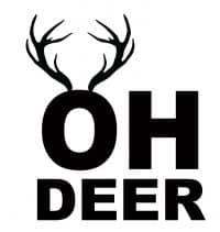 Free Oh Deer SVG File