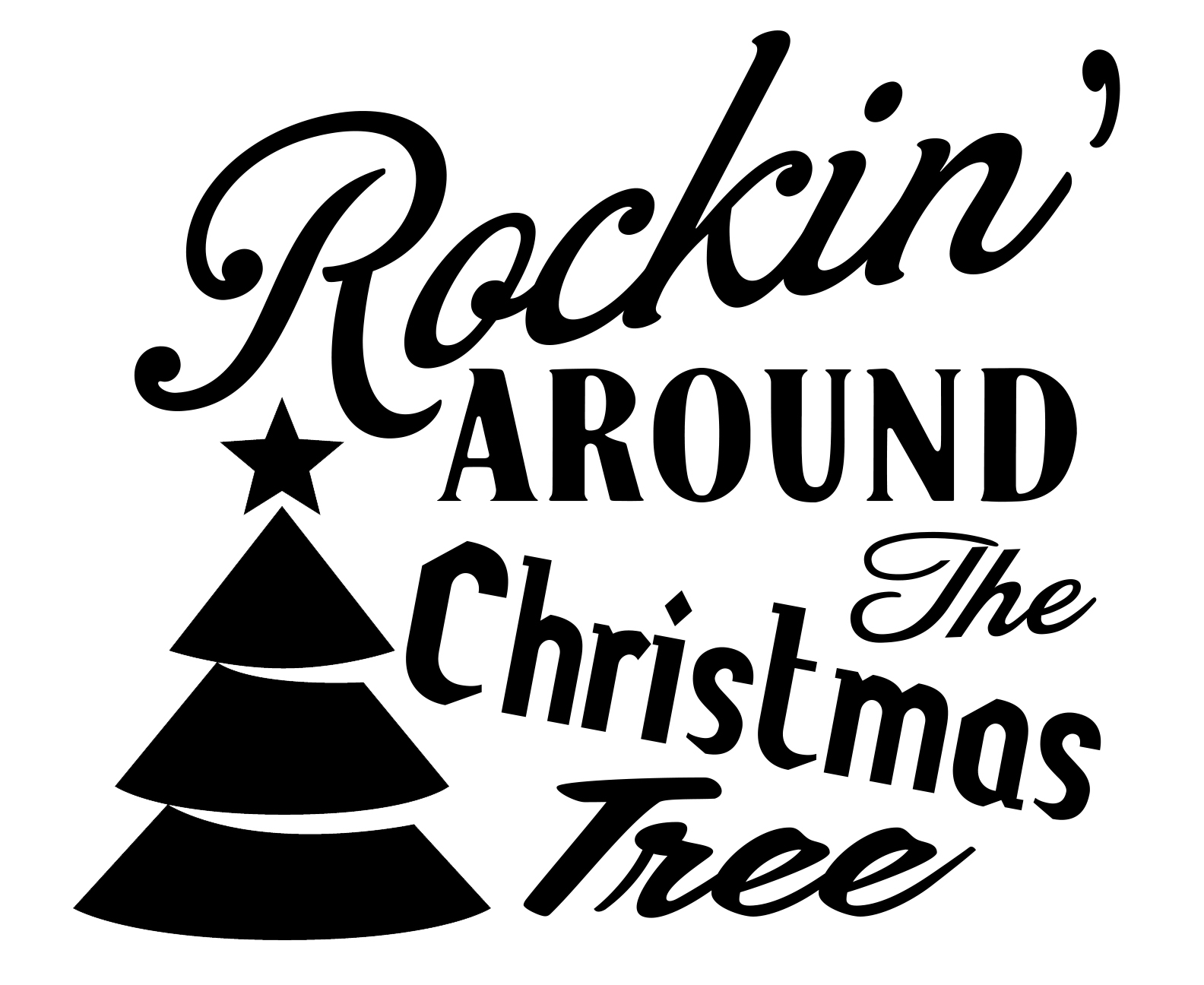 Free Rockin SVG File Download