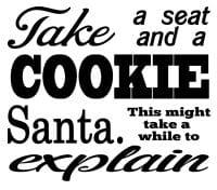 Free Santa I can explain SVG File
