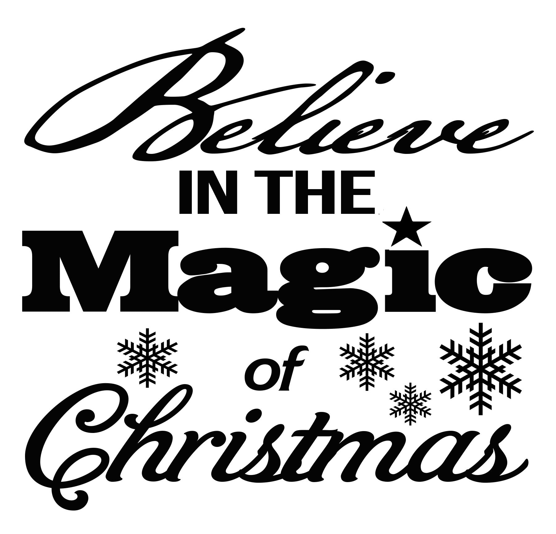 FREE Magic of Christmas SVG File