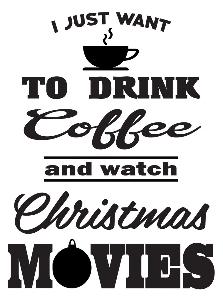 Free Watch Christmas Movies SVG File