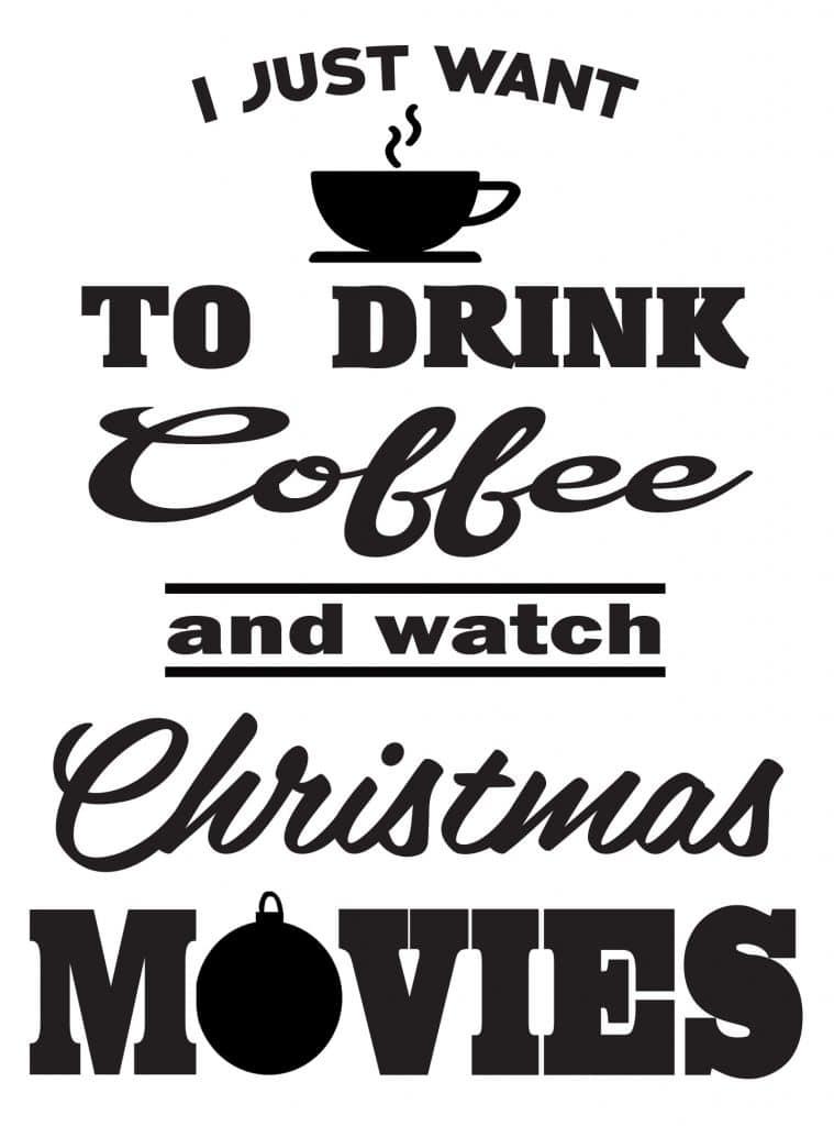Free Watch Christmas Movies SVG File