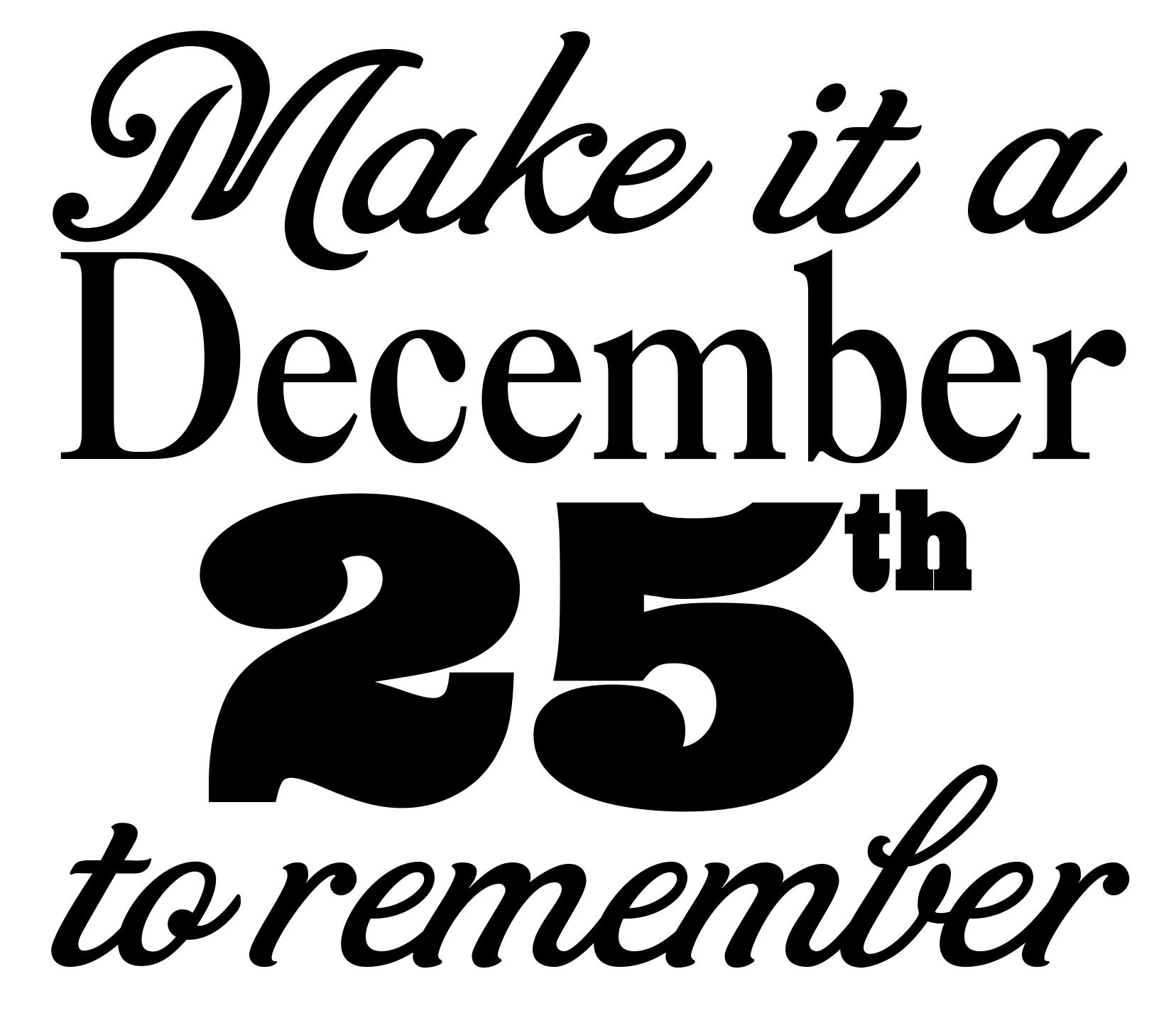 Free December 25th SVG File