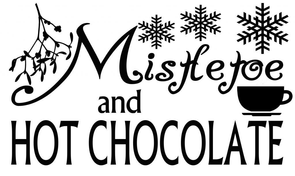 Free Mistletoe and Hot Chocolate SVG File