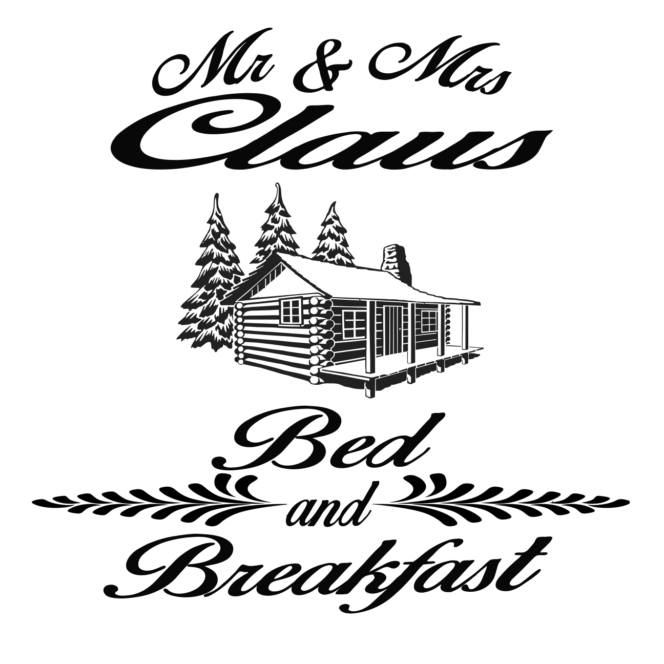 Free Bed and Breakfast SVG File