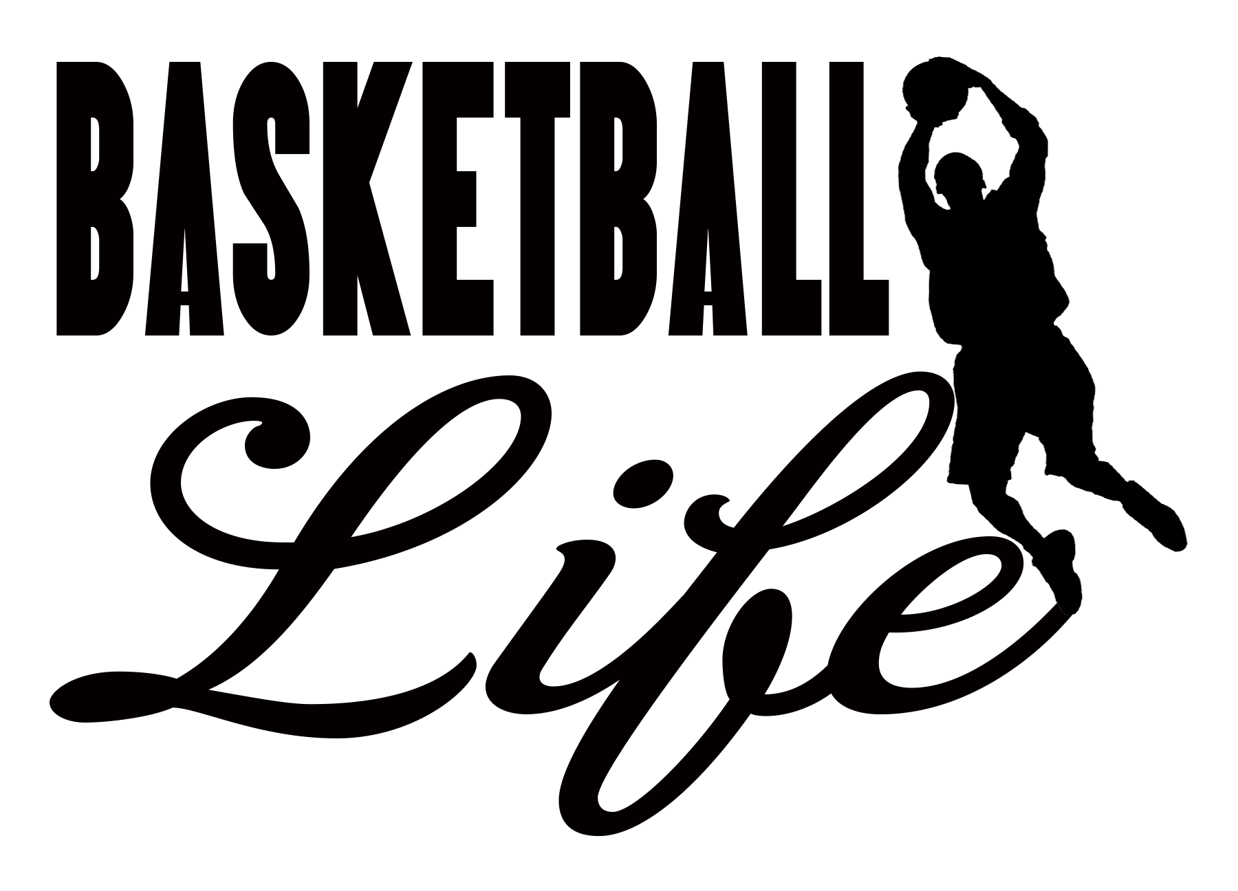 Free Basketball Life SVG File