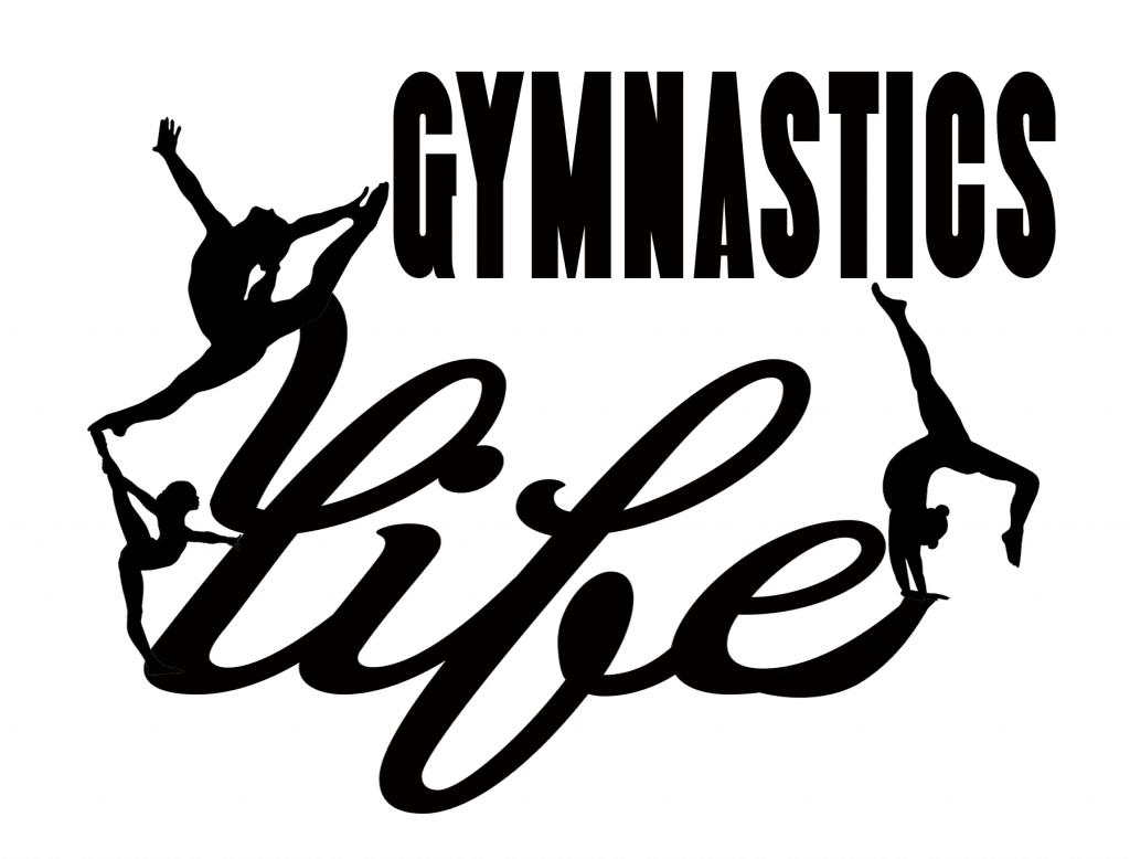 Free Gymnastics Life SVG File
