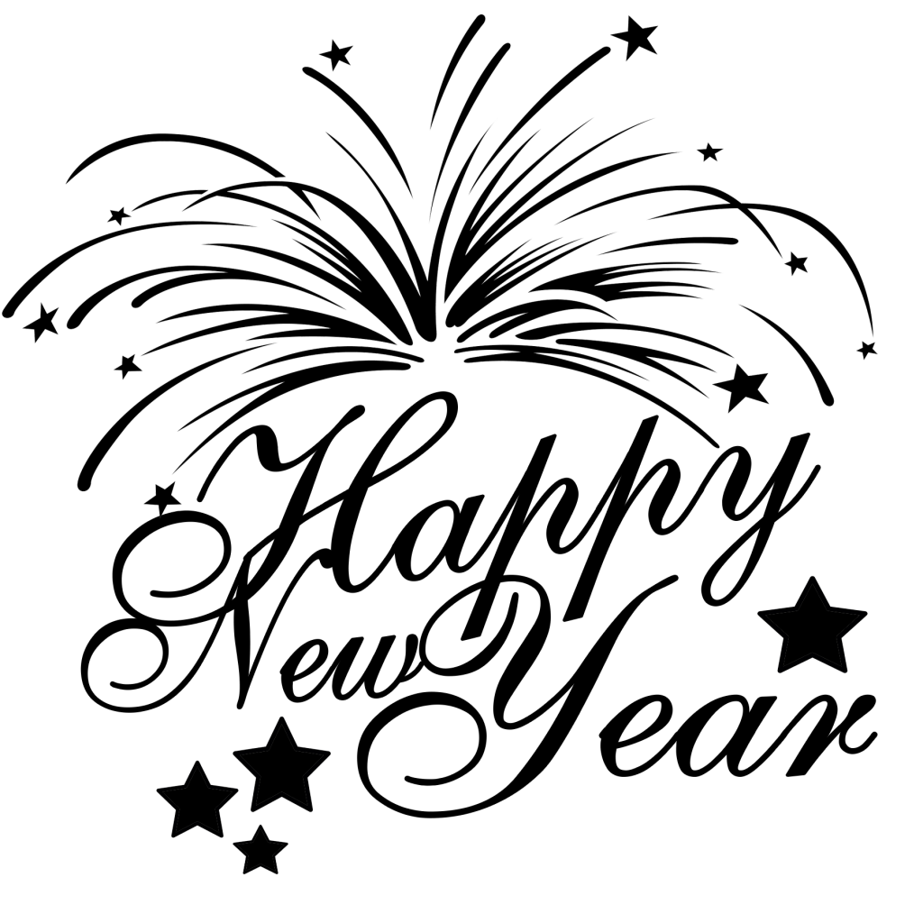 Free Happy New Year SVG File
