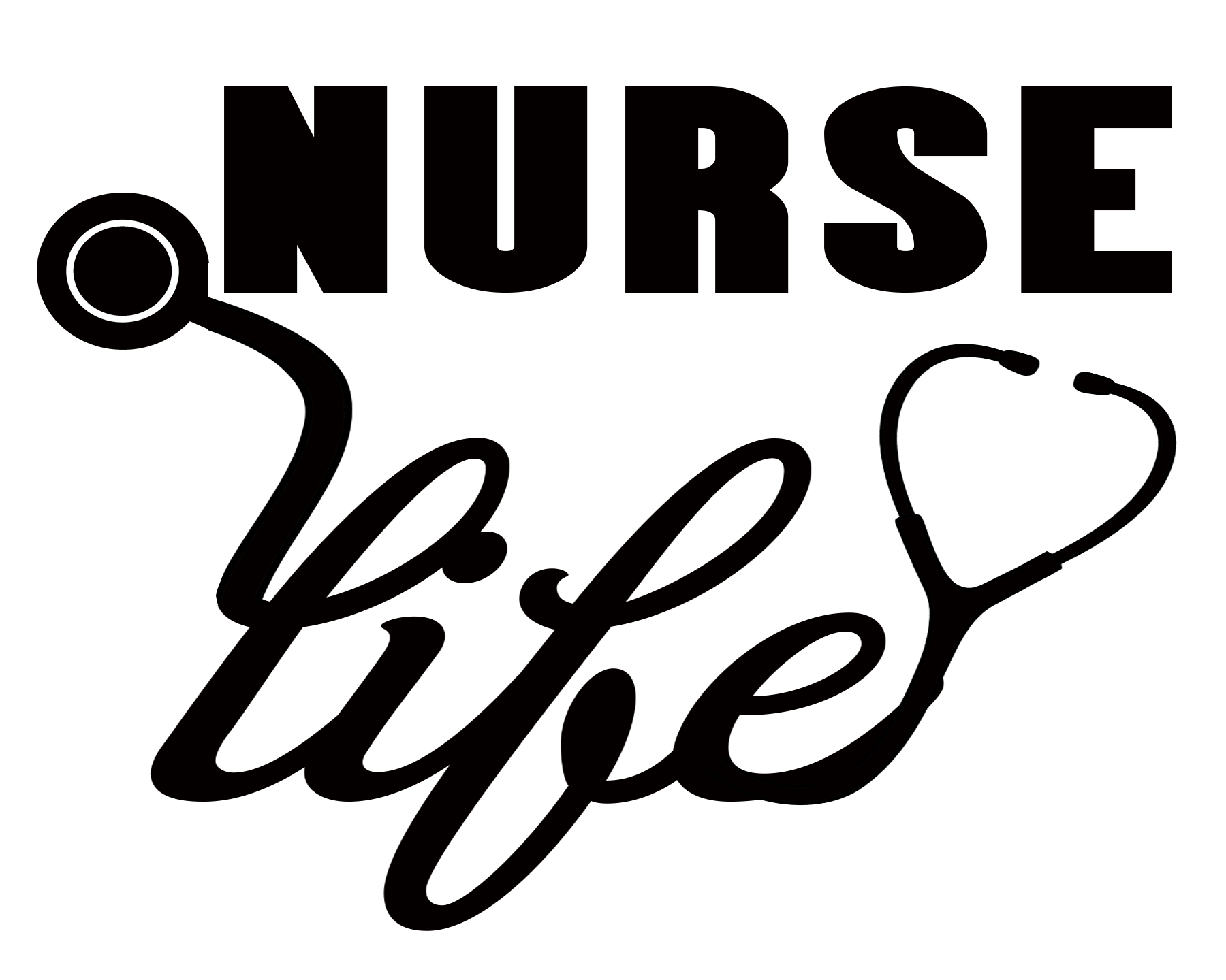 Free Nurse Life SVG File