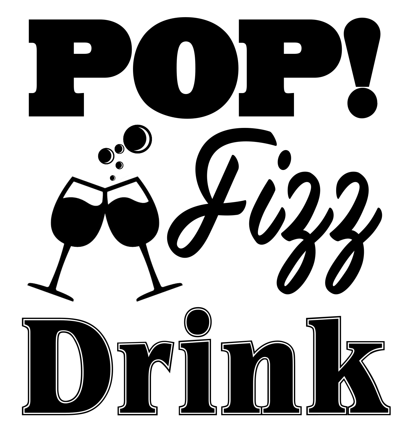Free Pop Fizz Drink SVG File