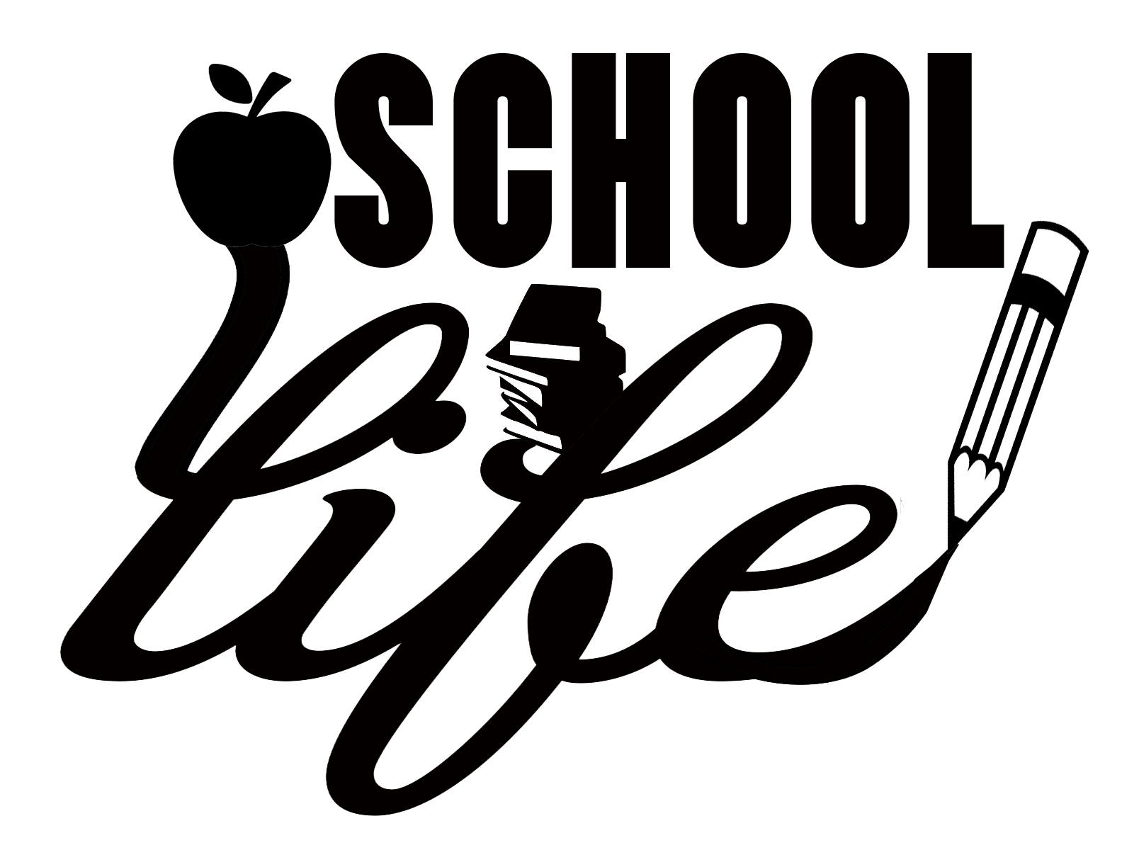 Free School LIFE SVG File