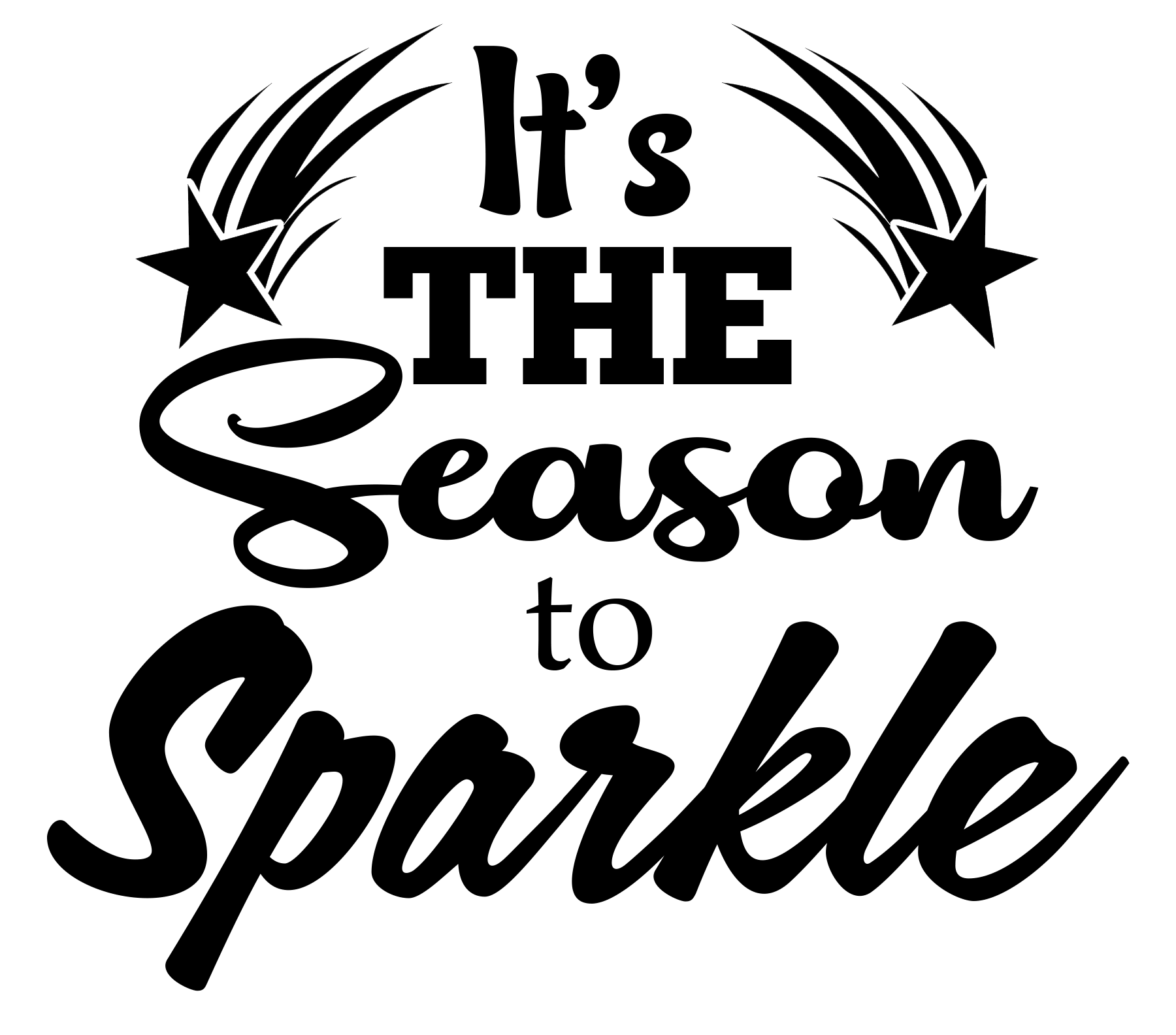 Free Season to Sparkle SVG File