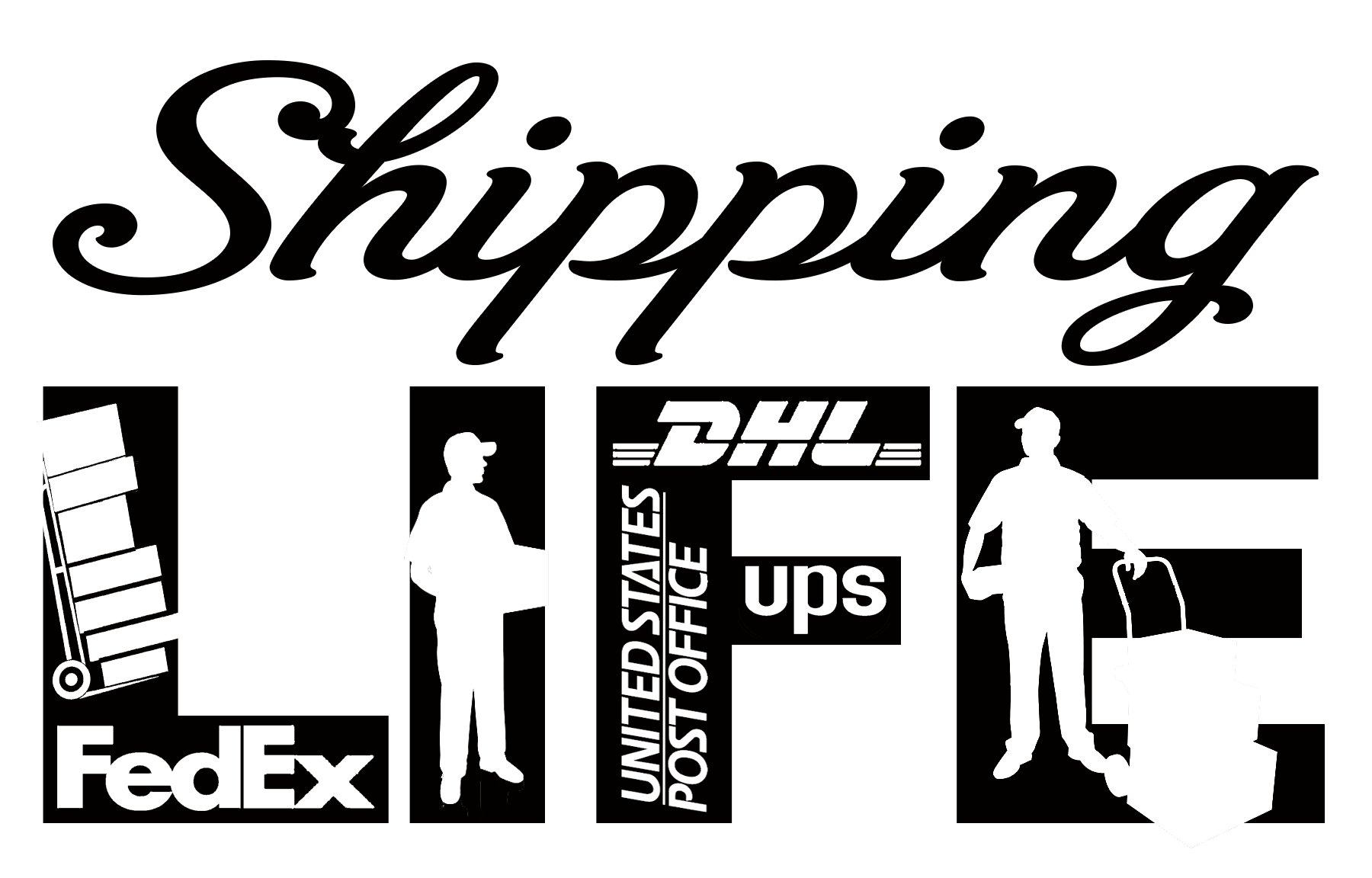Free Shipping Life SVG File