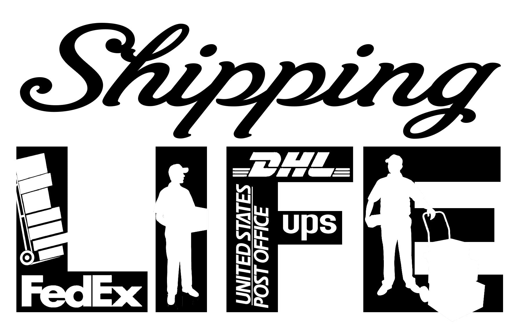 Free Shipping Life SVG File