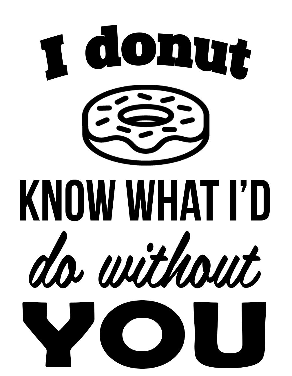 Free Donut SVG File