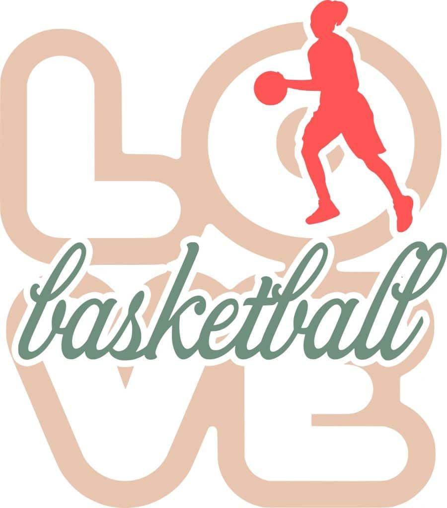 Free Basketball SVG Cutting File