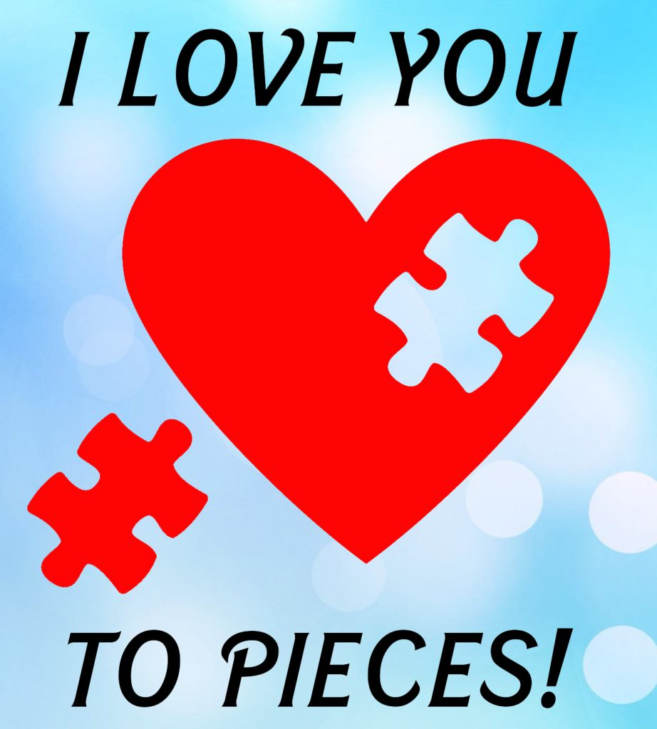 Free Love You to Pieces SVG File