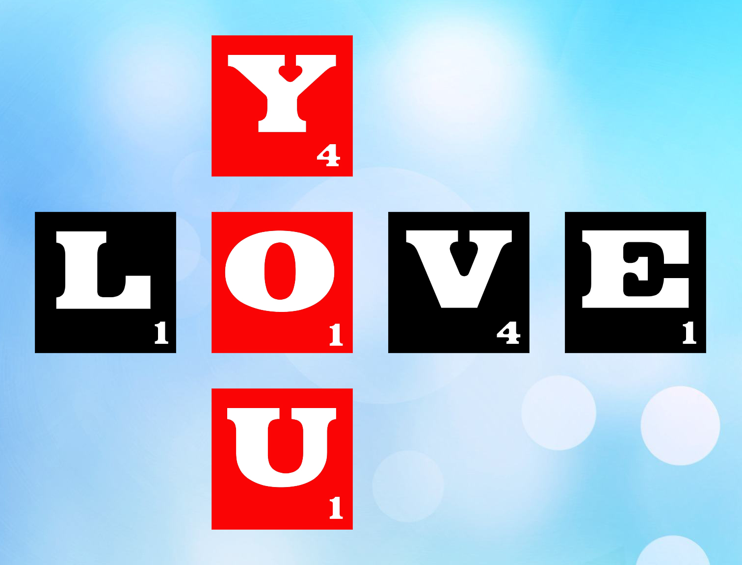 Free Love You SVG File