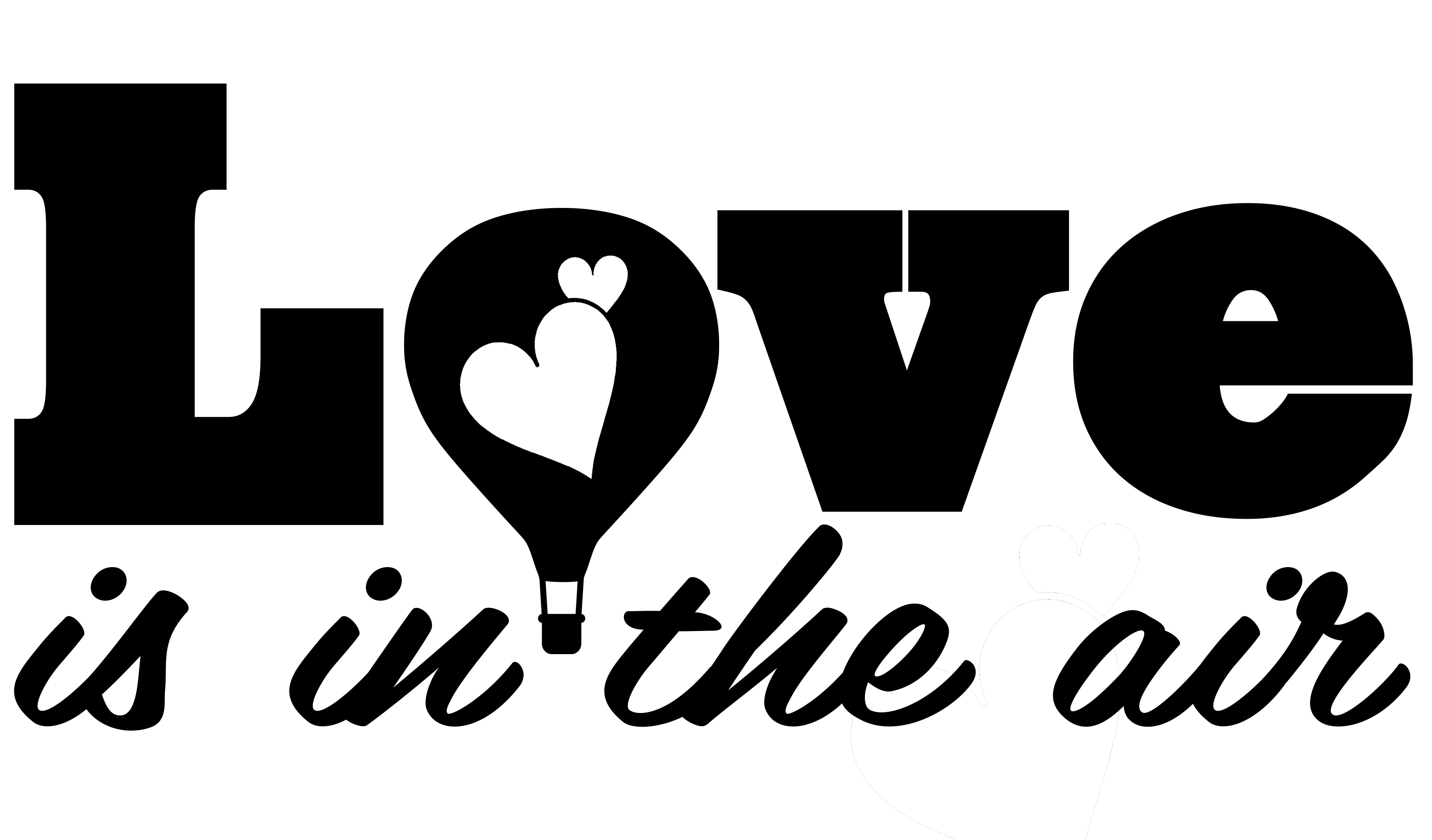 Free Love is in the Air SVG File