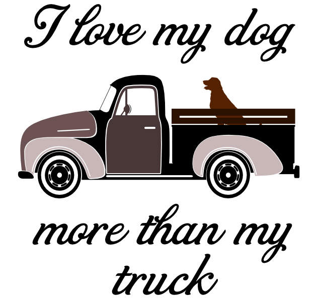 Free I love my Truck SVG Cutting File