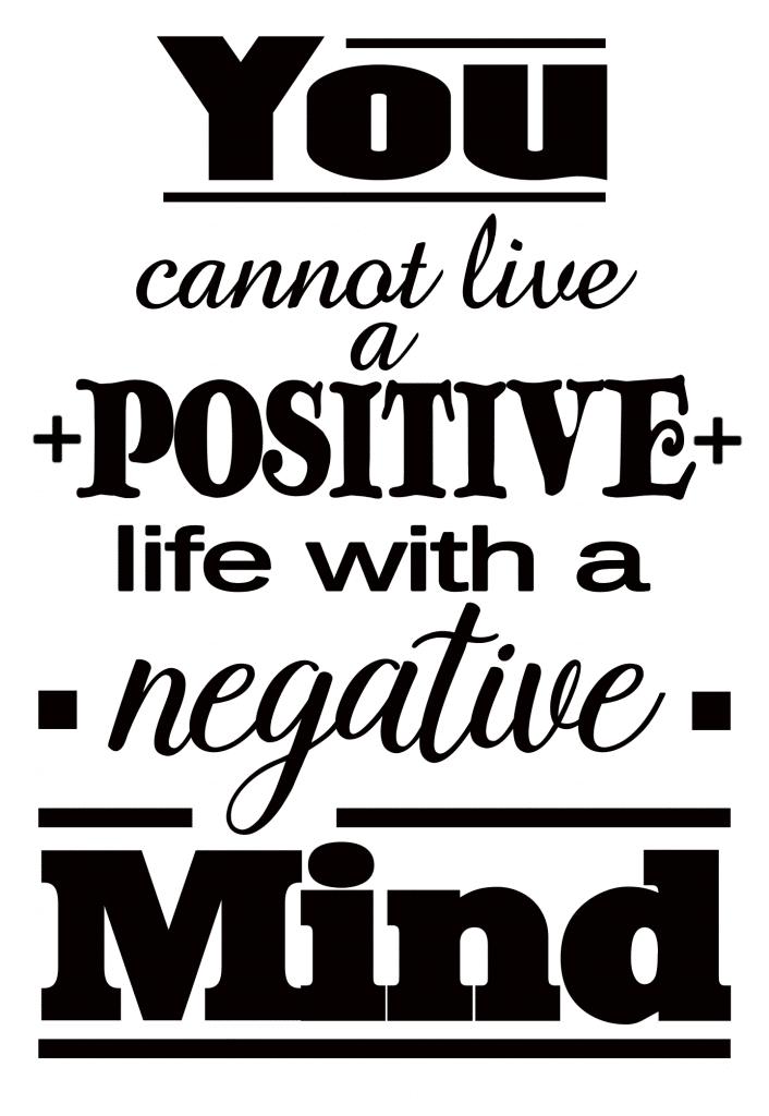 Free Positive Mind SVG File