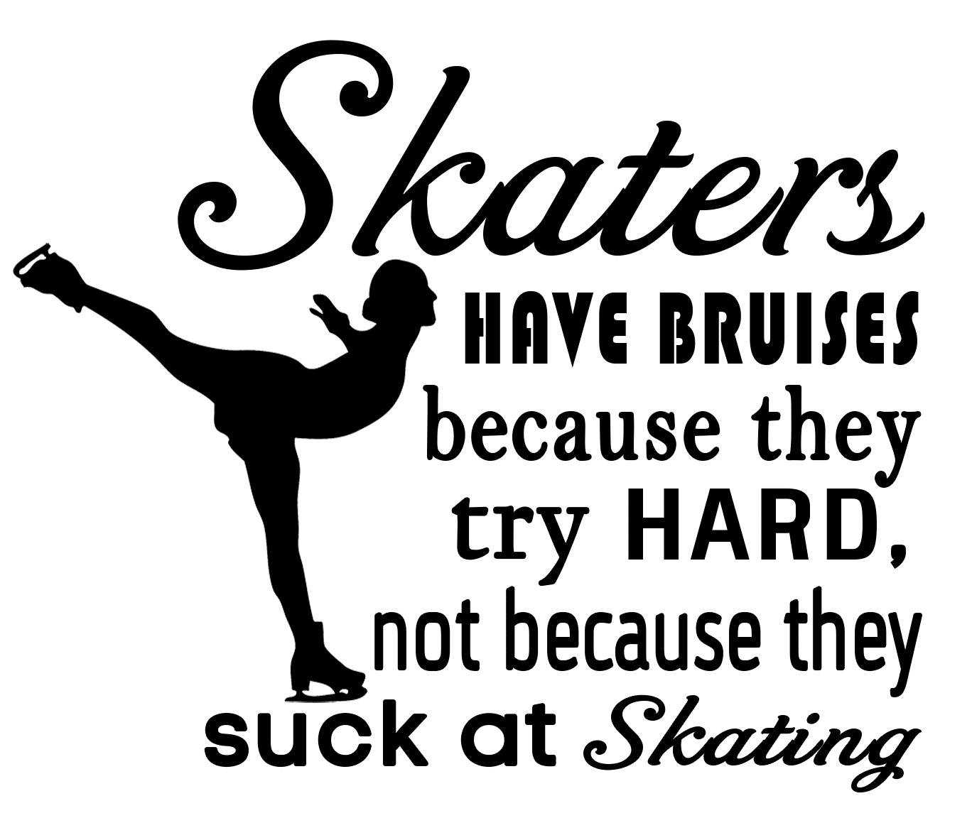 Free Skating SVG Cutting File