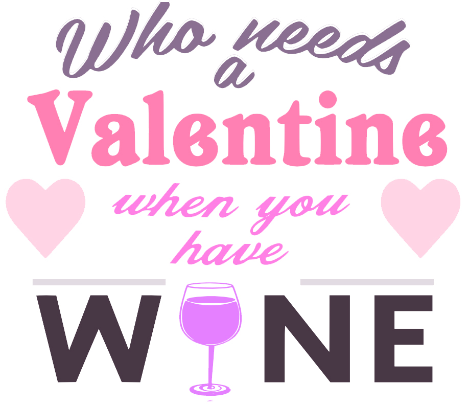 Free Valentine Wine SVG Cutting File
