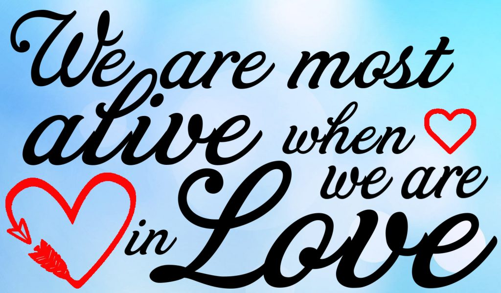 Free When we are in Love SVG File