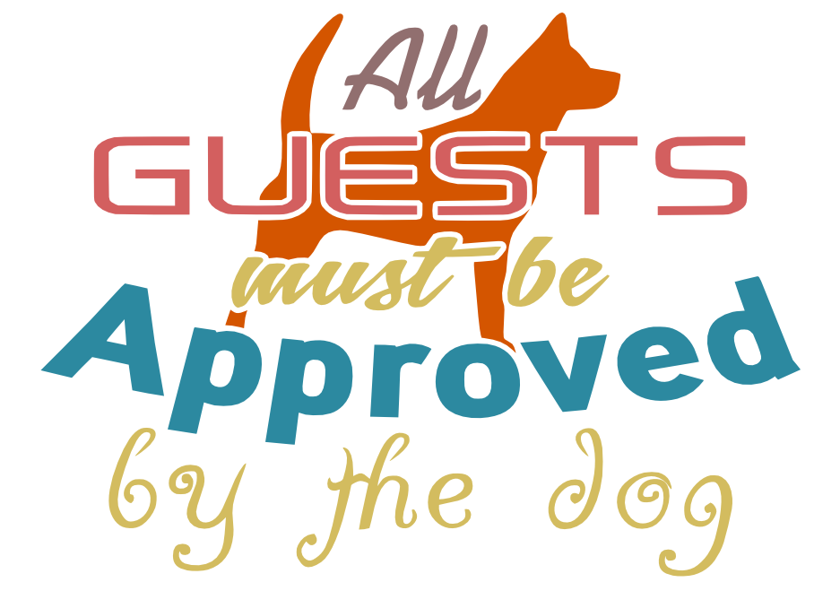 Free Approved my the Dog SVG Cutting File