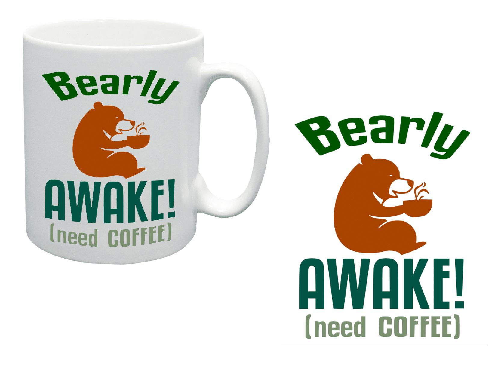 Free Bearly Awake SVG Cutting File