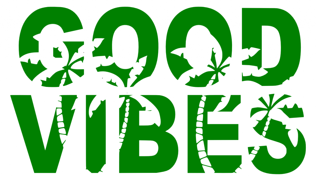 Free Good Vibes SVG Cutting File