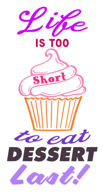 Free Dessert SVG Cutting File