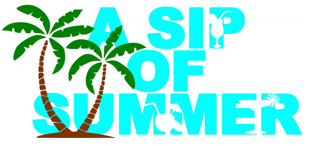 Free Sip of Summer SVG File