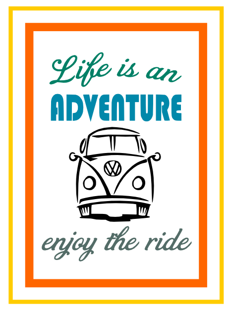 Free Life is an Adventure SVG Cutting File