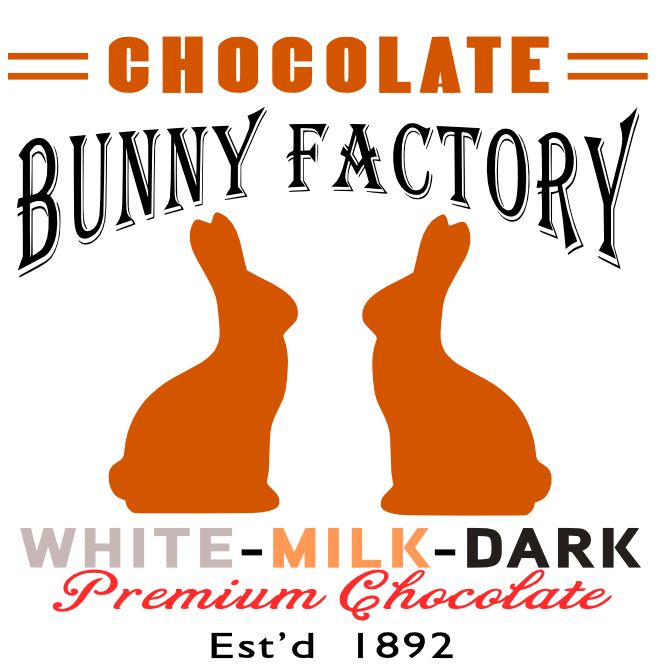 Free Bunny Factory SVG File