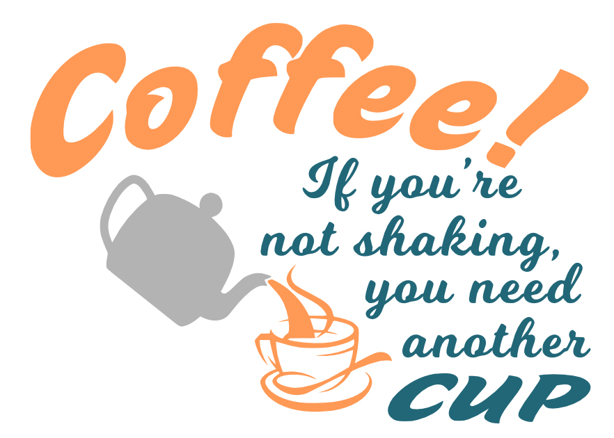 Free Coffee SVG Cutting File