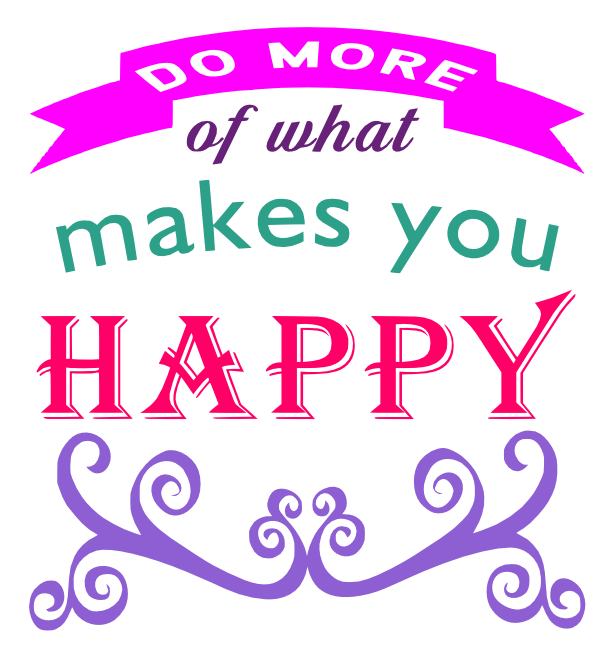 Free Makes You Happy SVG Cutting File