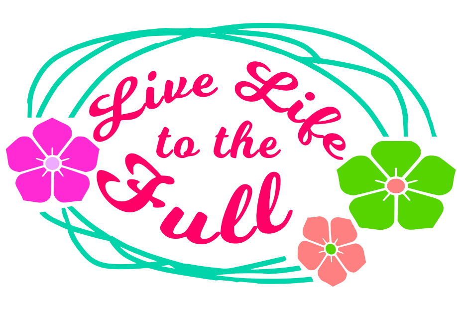 Free Live Life SVG Cutting File