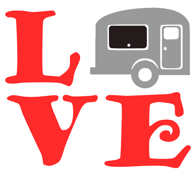 Free Caravan Love SVG Cutting File