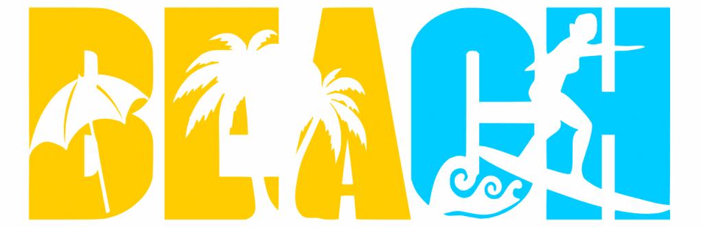 Free Beach SVG Cutting File
