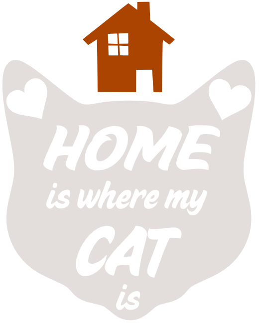 Free Home Cat SVG Cutting File