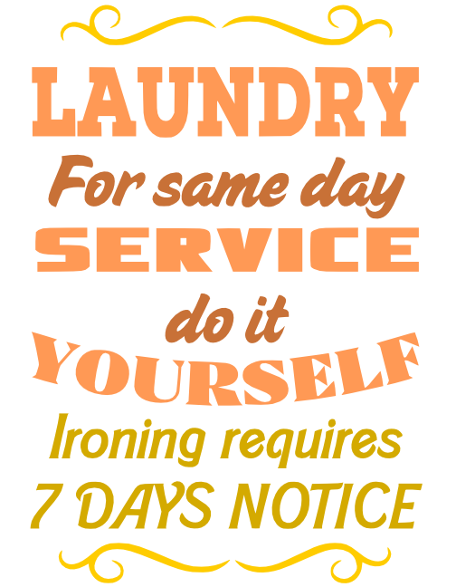 Free Laundry Service SVG Cutting File