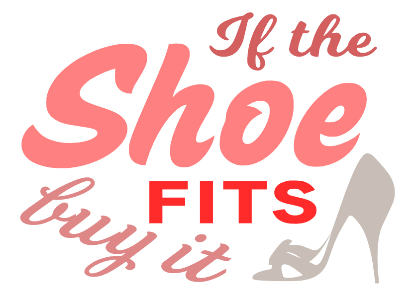 Free Shoe Fits SVG Cutting File
